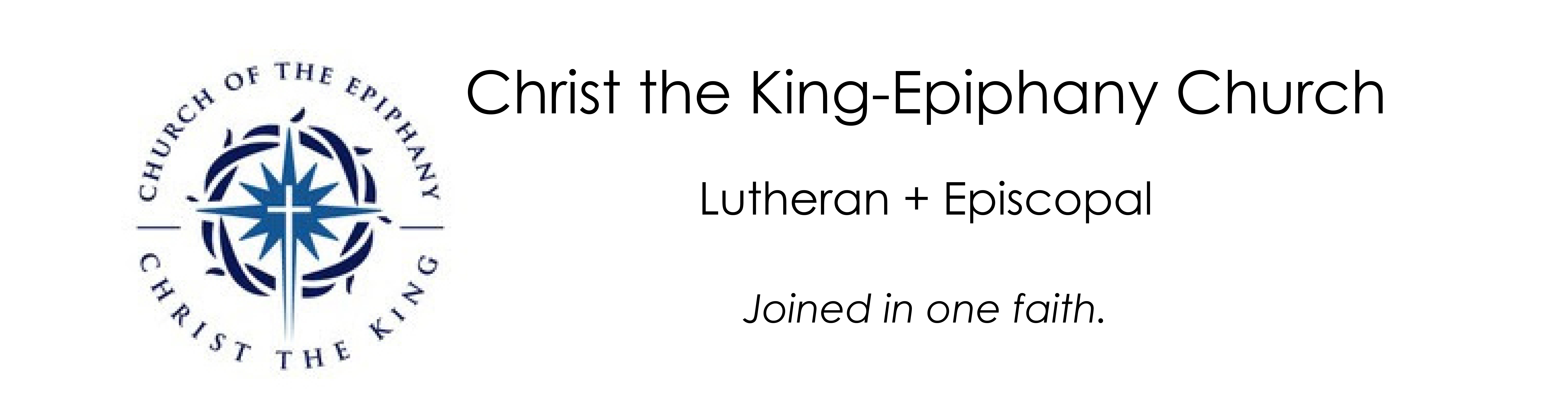 Christ the King-Epiphany Church logo